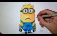Comment dessiner un Minion [Tutoriel]