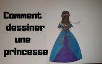 Comment dessiner une princesse facilement [Tutoriel]