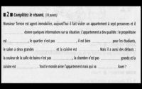 Compréhension orale Niveau 1  - Leçon 29 BILAN