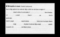 Compréhension orale Niveau 1  - Leçon 39
