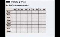 Compréhension orale Niveau 1 - Leçon 4