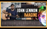 Cours de Guitare : Apprendre Imagine de John Lennon