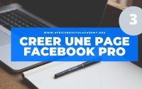 Créer Une Page Facebook pour Entreprise Leçon 03