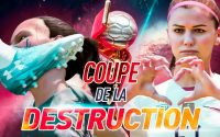 ELLES DONNENT une LEÇON de TACLES ! - COUPE du MONDE FÉMININE de la DESTRUCTION - FRANCE / USA