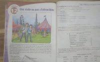French Class 7 Lesson 12 tutorial - NEW ALF 3 - Leçon 12. Une visits au parc d'attractions