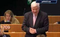 La bonne leçon du professeur Gollnisch au donneur de leçons Juncker