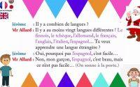 Leçon 1:► 1 dialogue  ► Jérôme et la géographie
