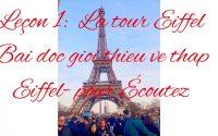 Leçon 1 : Bài đọc giới thiệu về tour eiffel