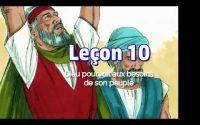 Leçon 10: Dieu pourvoit aux besoins de son peuple