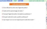Leçon sur le code de la route - Lecture - 6AP