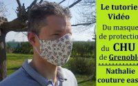 Le tutoriel du masque de protection du modèle du CHU de Grenoble