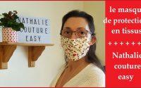 Le tutoriel du masque de protection en tissus