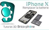 Tutoriel 3D iPhone X : comment changer la batterie