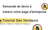 Tutoriel: Générateur De Devis Pages Jaunes Pour Le Vendeur
