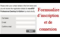 Tutoriel php-mysql(formulaire d'inscription-connexion résumé) | By NewDzign