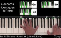 Vitaa & Slimane - Avant toi (piano tutoriel)