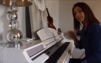 cours darbouka, rythme samaï ( leçon n°5 ) :Lama bada yatathana piano et darbouka