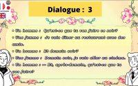 leçon 1 Dialogue en français_____lesson 1 Dialogue in French