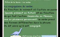 le verbe - leçon de français pour les CP et les CE1 - FLE - french learning