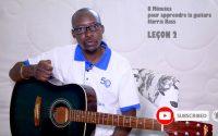 8 MINUTES POUR APPRENDRE LA GUITARE avec HARRIS BASS - LEÇON 2