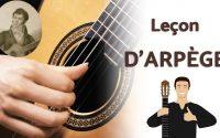 Arpège à la guitare ! Leçon d'un grand maître espagnol !