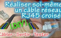 Comment faire soi même un câble Ethernet RJ45 croisé 🔧 TUTORIEL 💻