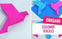 Comment faire une colombe en origami ? (Tutoriel)