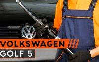 Comment remplacer des amortisseurs avant sur une VW GOLF 5 TUTORIEL | AUTODOC