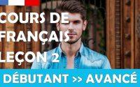 Cours de français gratuit / Débutant / Leçon #2