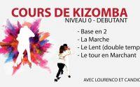 ⭐️⭐️⭐️⭐️⭐️Cours de kizomba - tutoriel kizomba débutant- Coursdekizomba.com - Module 01 cours kizomba
