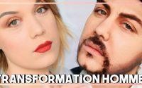 JE SUIS UN HOMME - TRANSFORMATION FEMME / HOMME TUTORIEL MAKE UP FX