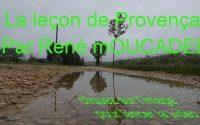 La leçon de Provençal n°27
