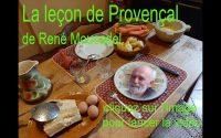 La leçon de Provençal n°8