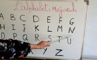 Leçon 1: L'alphabet - les lettres en majuscules