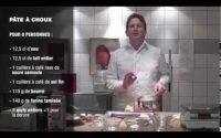 Leçon n°1 par Christophe Felder : la pâte à choux