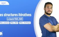 Les structures itératives POUR..FAIRE (Les BAC Scientifiques ✍️🔥) Leçon 1