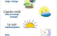Lingala leçon 11: le temps