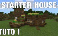 MINECRAFT - Petite starter house tutoriel (ps4)