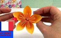Origami fleur DIY / Belles fleurs pour le printemps / Tutoriel spécial Pâques | français