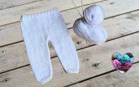 Pantalon bébé facile tutoriel tricot / Baby Pants easy knit