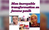 TUTORIEL MAKEUP :MON INCROYABLE TRANSFORMATION EN FEMME PEULH MAKEUP COLORÉE
