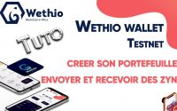 🔷TUTORIEL 💻WETHIO TEST NET : WETHIO WALLET