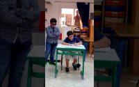 Théâtre-Leçon d'orthographe : Marc et Alwaleed