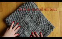 Tricoter la couverture bébé tutoriel/ Knit baby blanket