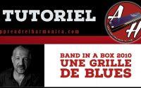 Tutoriel - Band in a box - Une Grille de blues