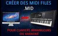 Tutoriel : Créer des fichiers MIDI .mid pour claviers arrangeurs et séquenceurs