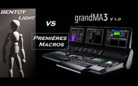 Tutoriel GMA3 - Premières Macros (Bentoylight vs GrandMA3) v1.0