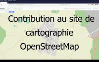 Tutoriel modification OpenStreetMap