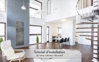 Tutoriel radiateur décoratif DECOWATT