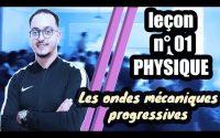 leçon 01 physique BIOF - Les ondes mécaniques progressives